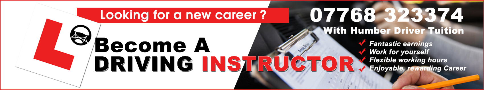 driving instructor tuition